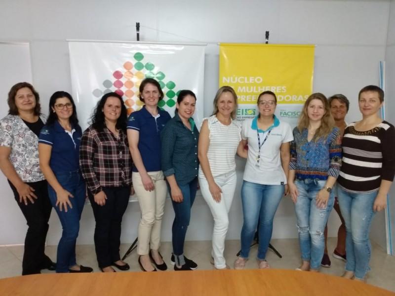 Núcleo de Mulheres Empreendedoras da AEI faz ação para o mês da mulher