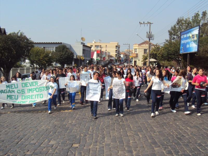 Núcleo de Jovens Empreendedores da AEI realiza o 3º Feirão do Imposto em Itaiópolis