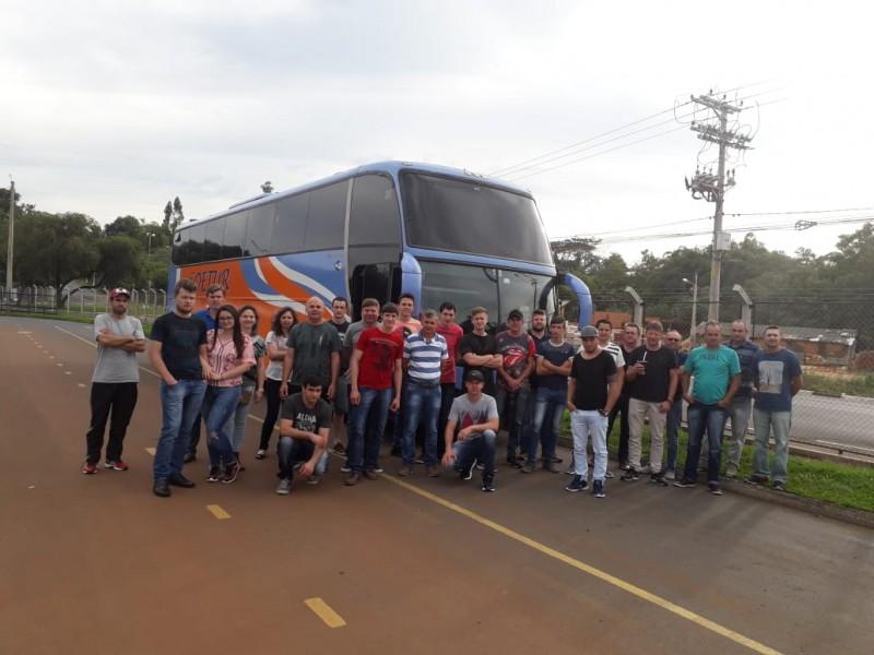 Núcleo Automotivo de Itaiópolis realiza Visita Técnica em São Paulo