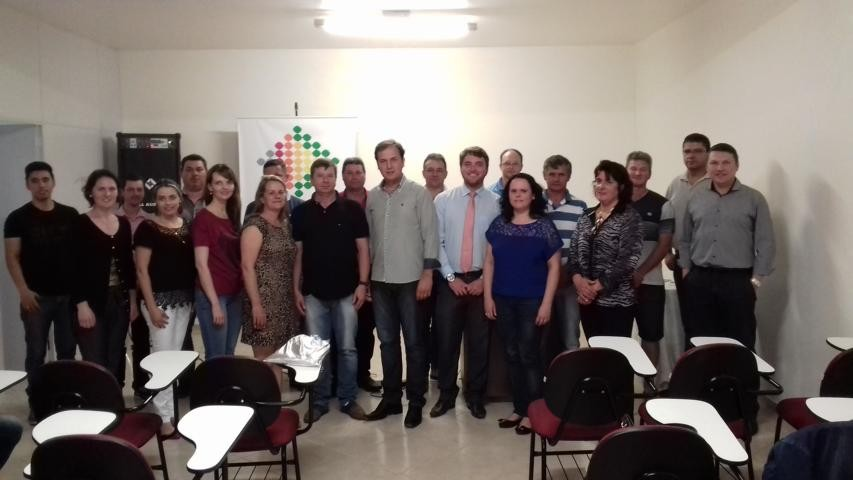 Orides Varella foi reeleito Presidente da AEI e CDL de Itaiópolis