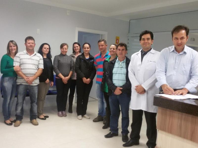 Grupo de Empresários fazem visita na Clinica Vida