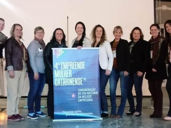 Mulheres Empreendedoras de Itaiópolis participam do 4° Empreende Mulher