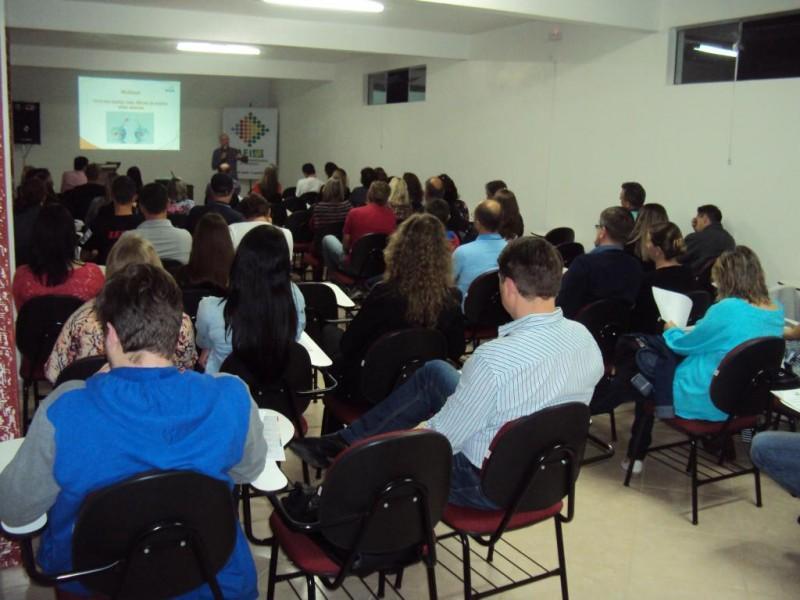 Palestra realizada em parceria da AEI com o SENAC foi um sucesso