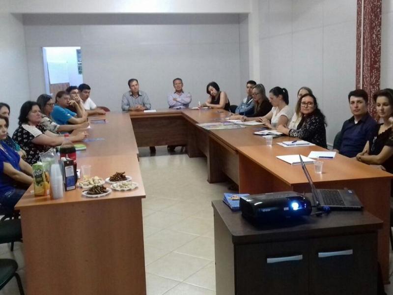 Prefeitura de Itaiópolis organiza encontro com o SENAC a fim de trazer para Itaiópolis cursos técnicos e de qualificação profissional
