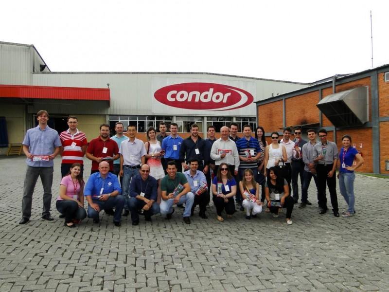Representantes da AEI visitam a Empresa Condor em São Bento do Sul