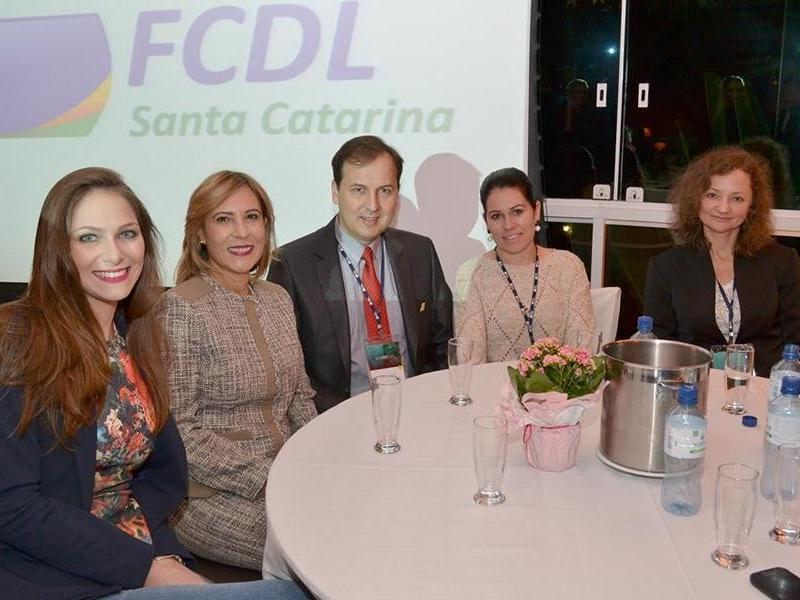 Presidente da CDL de Itaiópolis participa do 17° Encontro de Lideres Lojistas da FCDL/SC