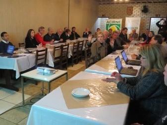 ACIs do Planalto Norte reúnem-se em reunião plenária da Facisc