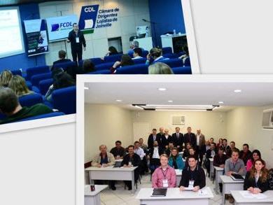 Presidentes e gestores de CDLs participam de encontro em Joinville