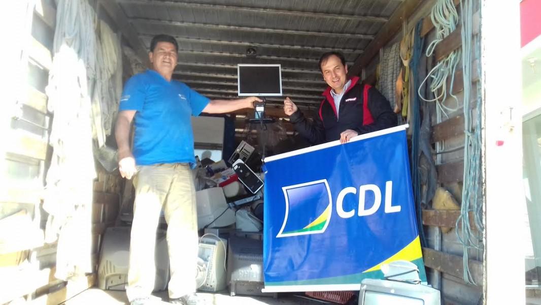 Campanha para coleta de lixo eletrônico Recicla CDL 2016